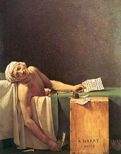Death of Marat David 250