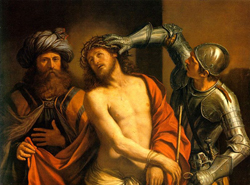Ecce Homo Il Guercino 1647 Oil on canvas 42.25 in x 58.66 in Alte Pinakothek, Munich