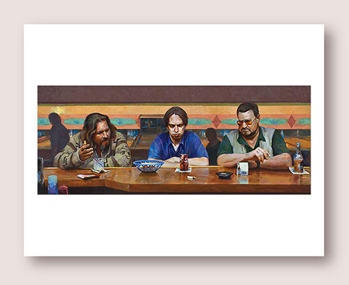 02 Lebowski_Print image Supper copy