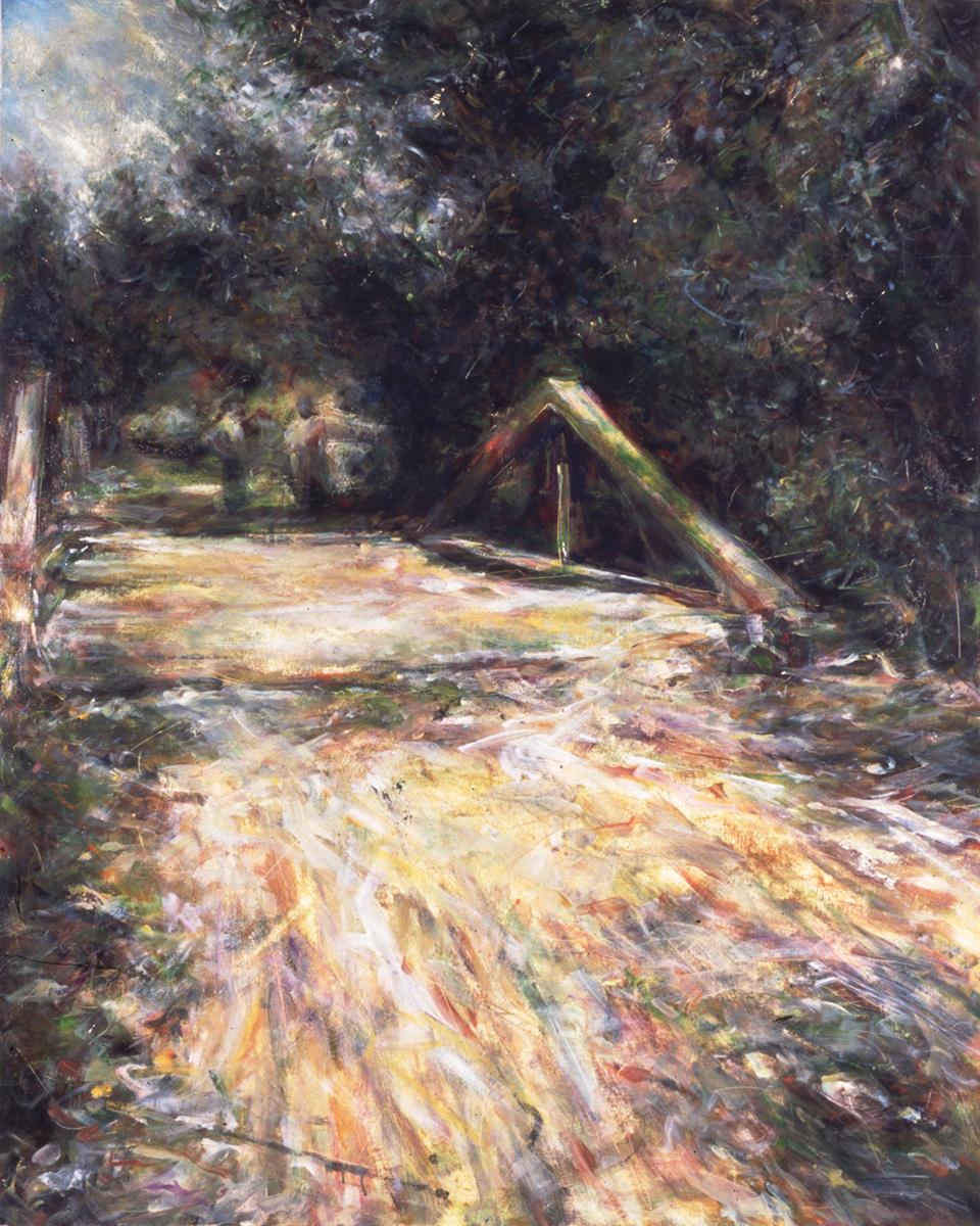 The Bridge • Joe Forkan 1998 48 x 60
