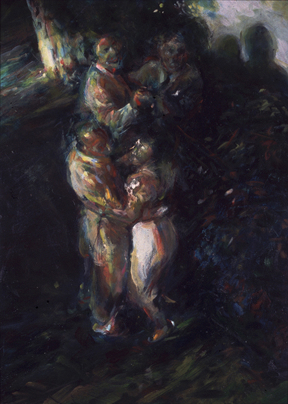 The Dance • Joe Forkan 1997 24 x 32